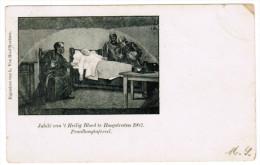 Jubilé Van ´t Heilig Bloed Te Hoogstraten 1902, Praalboogtafereel (pk21617) - Hoogstraten