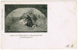 Jubilé Van ´t Heilig Bloed Te Hoogstraten 1902, Praalboogtafereel (pk21618) - Hoogstraten
