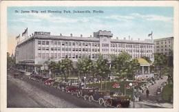 Saint James Building And Hemming Park Jacksonville Florida
