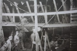 "ORIGINAL PHOTOGRAPHY RFA SHIPYARD ON THE BOAT"" KING-SALVOR""FEB 17TH,1944 Royal Fleet Auxiliary IN FULL WAR->WW2 RRR - Boats"