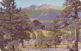 Colorado Rocky Mountain National Park  Longs Peak 1951