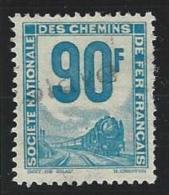 "FR Petits Colis YT 20 "" 90F. Bleu-vert "" 1944-47 Oblitéré - Used"