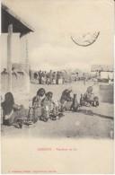 Djibouti, Milk Sellers, Market Scene, C1900s/10s Vintage Postcard - Djibouti