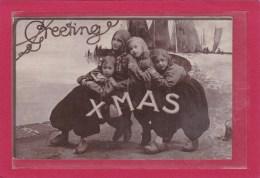 ROYAUME-UNI - ANGETERRE - FETES-VOEUX - NOEL - GREETING XMAS - VOEUX DE NOEL - PHOTO CARD - Noël