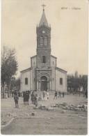 Setif Algeria, L'Eglise Church Architecture, C1910s Vintage Postcard - Setif