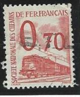 """Petits Colis YT 38 """" 70c. Rouge """" 1960 Oblitéré - Paketmarken"""