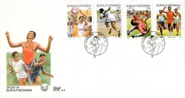 Bophuthatswana - 1987 Sports FDC # SG 183-186 , Mi 181-184 - Francobolli