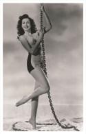 Sexy ANN MILLER Actress PIN UP Postcard - Publisher RWP 2003 (1) - Artiesten
