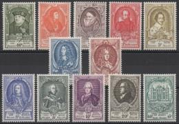 Belgique - YT N° 880 à 891 - Neufs * - MH - Cote: 200,00 € - Nuovi