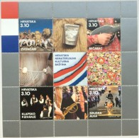 CROATIA - Souvenir Sheet CROATIAN CULTURAL HERITAGE - 2015 - Croatie
