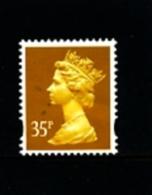 GREAT BRITAIN - 1993  MACHIN  35p.  2B  MINT NH  SG Y1698 - 1952-.... (Elizabeth II)