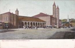 Old Union Railroad Station Providence Rhode Island