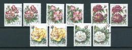 1994 Sweden Complete Set Fleurs,flowers,blümen Booklet Stamps Used/gebruikt/oblitere - Zweden
