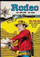Rodéo - Album N° 92 ( N° 413, 414 Et 415 ) - Rodeo