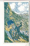 MILITÄR - 1.Weltkrieg, Eisenbahn / Feldbahn-Postkarte, K.u.K. Feldbahnkompanie Nr. 12 - Guerre 1914-18
