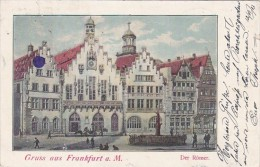 Der Roemer Gruss Aus Frankfurt am Main Germany 1903