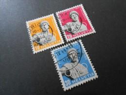 CH ZNr.259w-261w - Satz - 50Jahre Int. Olympische Komitee -1944 - SCHNAEPPCHENPREIS - Switzerland