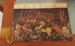 """CALENDARIO 1991 BRIGATA MECCANIZZATA """"TRIESTE""""  ALL'INTERNO: CENNI STORICI 1939 1950 I REPARTI DI IERI I REPARTI DI OGGI - Calendari"""