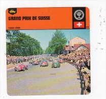 Sept15  70428   Grand Prix De Suisse  ( Fiche Auto ) - Automobile - F1