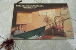 """CALENDARIO 1993 BRIGATA MECCANIZZATA """"PINEROLO"""" ALL'INTERNO: CENNI STORICI I COMANDANTI 9° REGGIMENTO FANTERIA """"BARI"""" 7° - Calendari"""