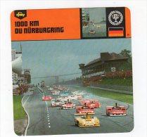 Sept15  63757 2   1000 KM Du Nurburgring        ( Fiche Auto ) - Automobile - F1