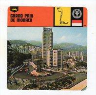 Sept15  63744 2   Grand Prix De Monaco        ( Fiche Auto ) - Automobile - F1