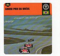 Sept15  63739 2   Grand Prix Du Brésil    ( Fiche Auto ) - Automobile - F1