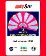 Nuova - MNH - ITALIA - Scheda Telefonica - SIP - Smau 1991 - Golden 136 - C&C 2193 - Fouten & Varianten