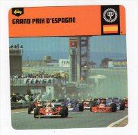 Sept15  64206  2   Grand Prix  D'espagne    ( Fiche Auto ) - Automobile - F1
