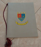 CALENDARIO 1993 CENTRO ALTI STUDI DIFESA (CASD) ALL'INTERNO: CENNI STORICI I PRESIDENTI XLIV SESSIONE DIMENSIONI CM 21X2 - Calendari