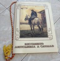 CALENDARIO 1992 REGGIMENTO ARTIGLIERIA A CAVALLO ALL'INTERNO: RICOMPENSE ALLO STENDARDO E INDIVIDUALI I COMANDANTI CENNI - Calendari
