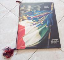 CALENDARIO 1994 DELL'ARMA DEI CARABINIERI 1° CENTENARIO DELLA BANDIERA DELL'ARMA ALL'INTERNO: MEDAGLIE PER L'UNITA' D'IT - Calendari