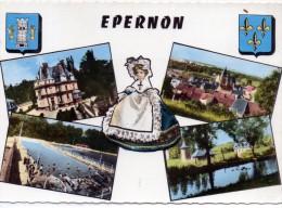 28 - EPERNON - Multi-vues - Ed Estel 23 227 - Epernon