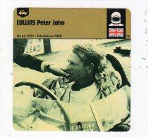 Sept15  70450   Collins Peter John     ( Fiches Auto ) - Automobile - F1