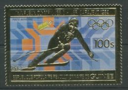 Guinea 1983 Olympiade Sarajewo 971 A Postfrisch - Guinea (1958-...)