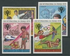 Guinea-Bissau 1979 Jahr Des Kindes 529/32 B Postfrisch - Guinea-Bissau
