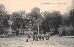 SAINT NAZAIRE  -  La Plage De Porcé (animée ) Edts Poulain - Saint Nazaire