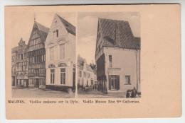 Mechelen, Malines, Vieilles Maisons Sur La Dyle, Vieille Maison Rue Ste Catherine (pk23168) - Mechelen