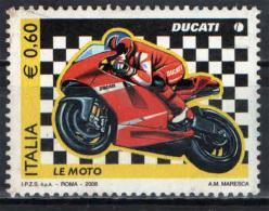 ITALIA - 2008 - LE MOTO: DUCATI - NUOVO MNH** - 2001-10: Mint/hinged