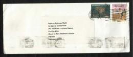 United Arab Emirates UAE  Air Mail Postal Used Cover Dubai To Pakistan Sport Game Water Animal Stamps - Abu Dhabi