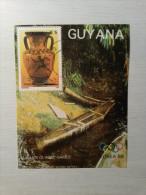 BLOC Oblitéré - GUYANA - Jeux Olympiques Séoul 1988. - Ete 1988: Séoul