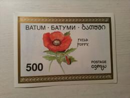 VIGNETTE - BATUM - Fleur : Coquelicot. - Erinnofilia