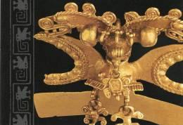 Lote PEP863, Costa Rica, Postal, Postcard, Museo Del BCCR, Colgante En Forma De Ave, Aire, Indigenous Handicrafts - Costa Rica