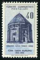 TURKEY 1956 (**) - Mi. 1476, The 25th Ann.of The Turkish History Society. - 1921-... Republic
