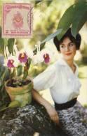 Lote PEP874, Colombia, Postal, Postcard, Tarjeta Maxima, Maximun Card, Orchid, Orquidea, 1039 - Colombia