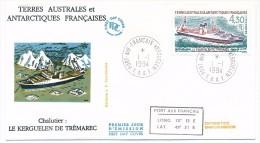 TAAF - Enveloppe FDC - Le Kerguelen De Trémarec - Port Aux Français Kerguelen - 1-1-1994 - FDC