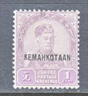 JOHORE   30   * - Johore