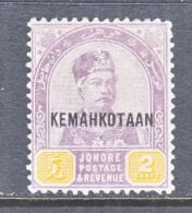 JOHORE   31   * - Johore