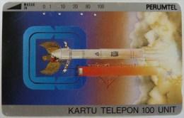INDONESIA - Tamura - Satelite Landing - 100 Units - Perumtel - Used