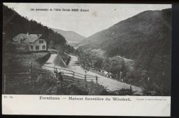 Les Promenades De Hotel Velleda Donon  Forsthaus Maison Forestiere Du Windeck - France